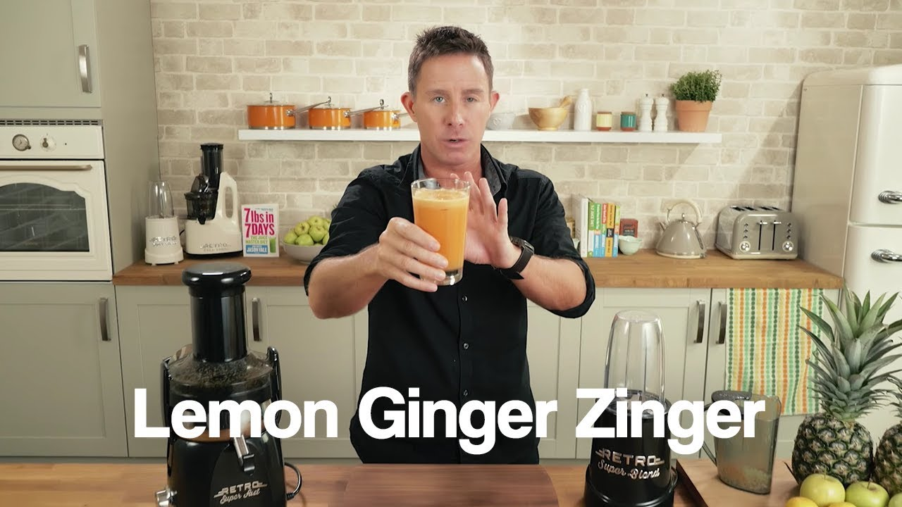 Lemon Ginger Zinger Jason Vale Juice Recipe