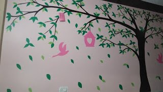 Wall art design for kids Room painting