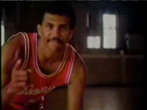 No Smoking Ad with Reggie Theus and Isaiah Thomas--from Dallas tv--WFAA tv from 1983