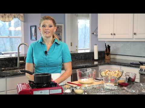 Maple Bread Pudding With Maple-Butter Sauce : Home-Cooked Meals