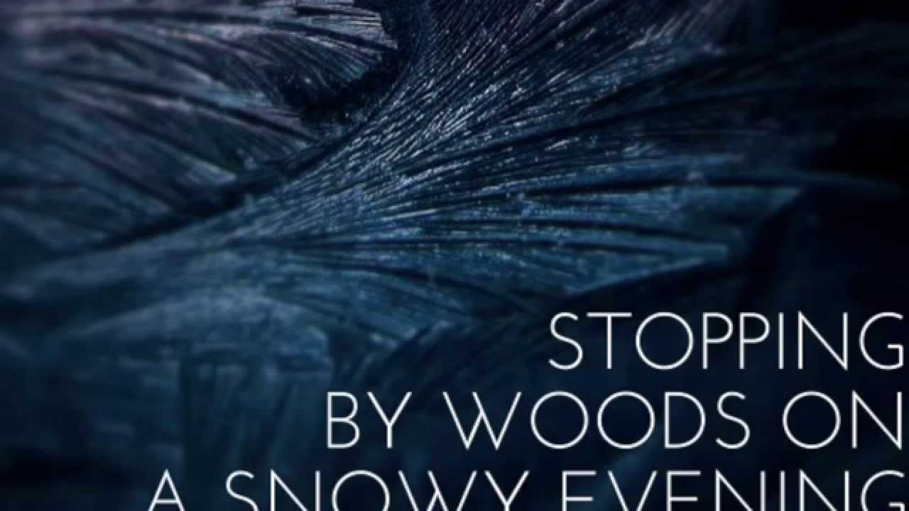 an analysis of stopping by woods on a snowy evening by robert frost Is this the perfect essay for you save time and order critical analysis of robert frost's, stopping by woods on a snowy evening essay editing for only $139 per page.