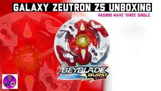 Beyblade Burst Rise Hyper Sphere Single Packs Galaxy Zeutron Z5