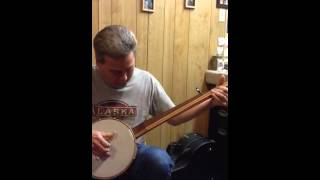 Donnie Little performs Katy Cline on an old time, open back
