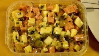 Käse Wurst Salat [cheese Sausage Salad]