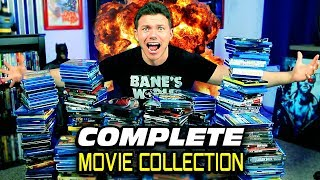 Complete BLU-RAY MOVIE Collection 2019!!