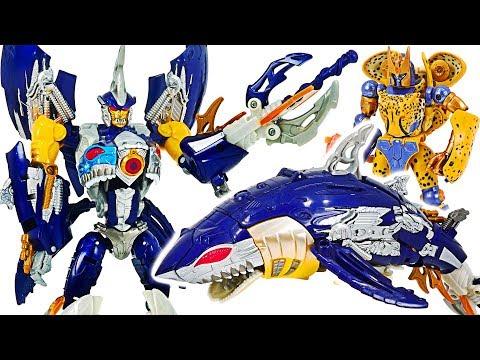 Transformers Legends Shark To Robot: Sky-Byte!   DuDuPopTOY