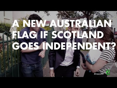 A New Australian Flag if Scotland Goes Independent.
