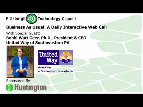 United Way SWPA President Goes Live on Business as Usual Today