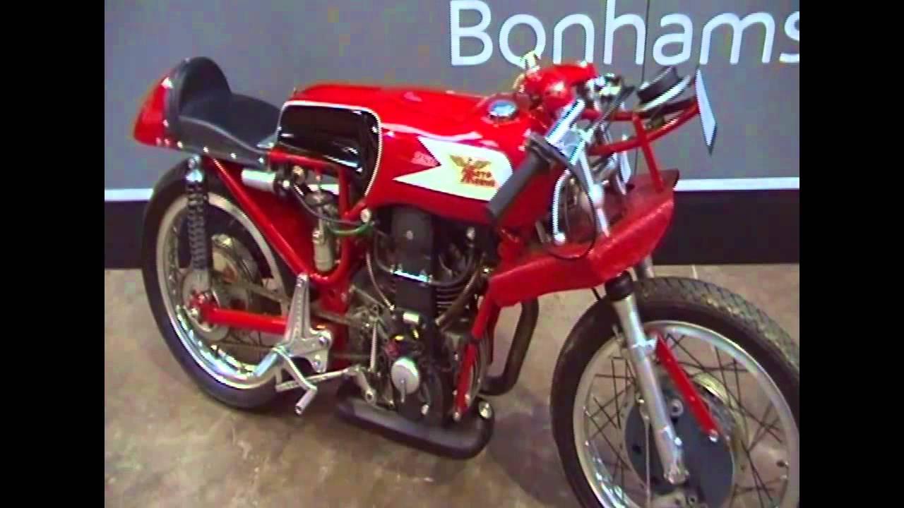 Morini 250 GP - YouTube