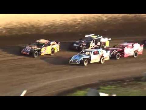 IMCA Sport Mod Heats 34 Raceway 7/23/16