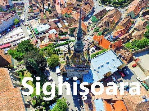 Sighişoara , Romania - My Dji phantom 3 professional 4K