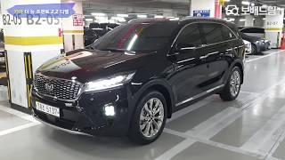 2019 기아 더 뉴 쏘렌토 2.2 디젤 2WD 노블레…