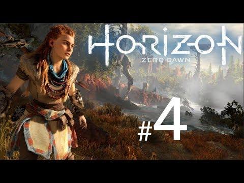 HORIZON ZERO DAWN Gameplay Walkthrough Part 4 - (PS4 Pro Live Stream) thumbnail
