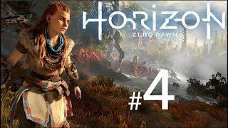 HORIZON ZERO DAWN Gameplay Walkthrough Part 4 - (PS4 Pro Live Stream)