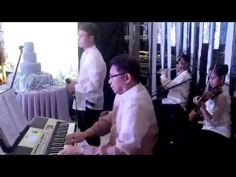 "MANILA WEDDING SINGERS ""So It's You"" String Quartet Philippines WEDDING  MUSIC EVENTS"