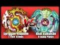 SPRIGGAN REQUIEM.7F.At VS BEAT KUKULCAN.0B.Pl | Beyblade Burst Battle