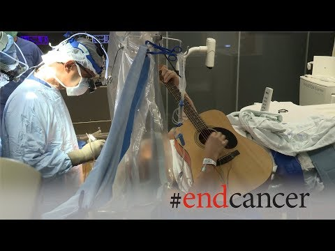 Brain Tumor Patient Plays Guitar During Awake Craniotomy Surgery