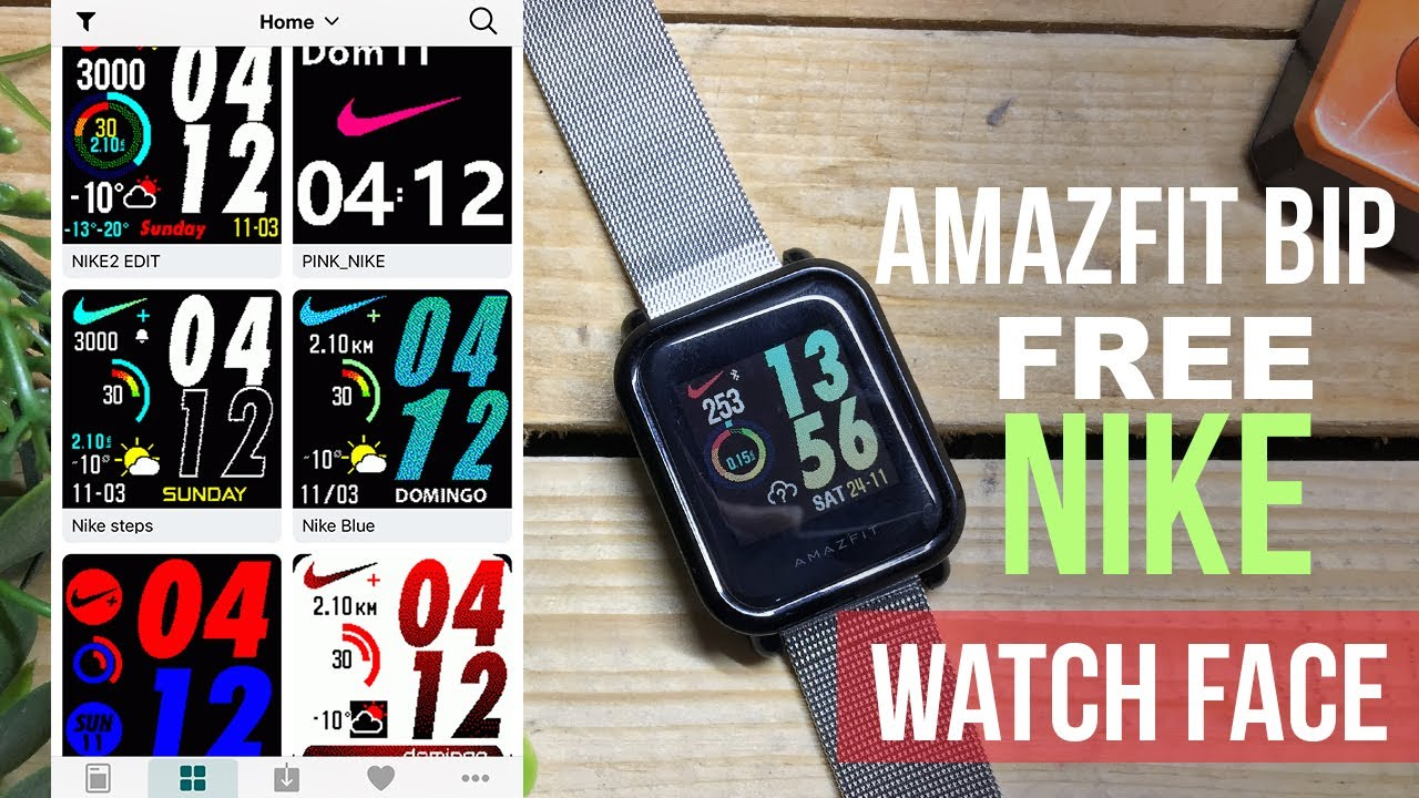 Amazfit Bip: How to install Watch Faces for FREE #watchface #amazfitbip  #facewatch