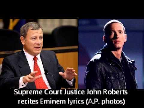 Full audio-Supreme Court justice recites Eminem lyrics