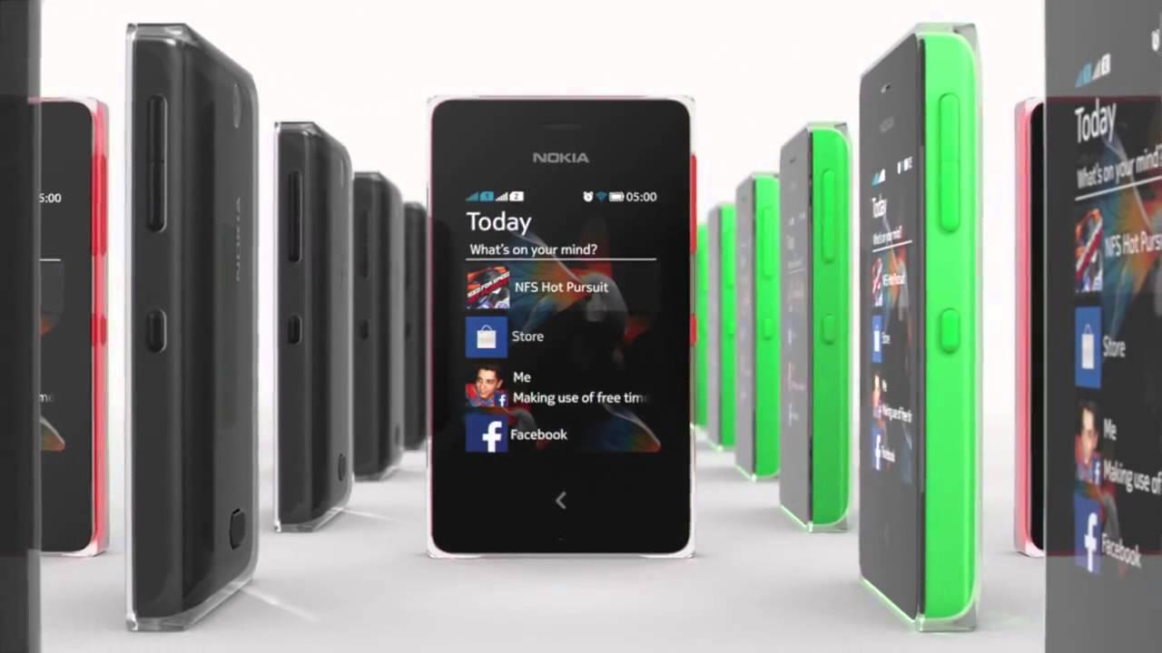 New Nokia Asha 500 Dual SIM Commercial