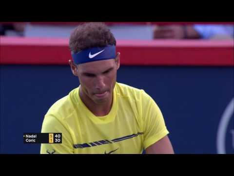 Nadal tops Coric in Montreal opener