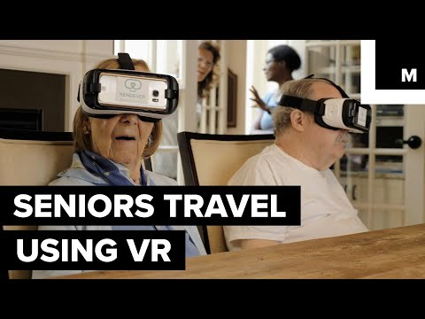 Seniors Travel Using VR