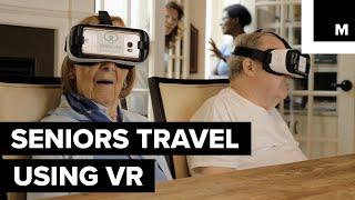Seniors Travel Using VR