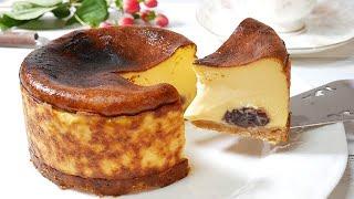 和風濃厚バスクチーズケーキ HiroMaru CooK TVさんのレシピ書き起こし