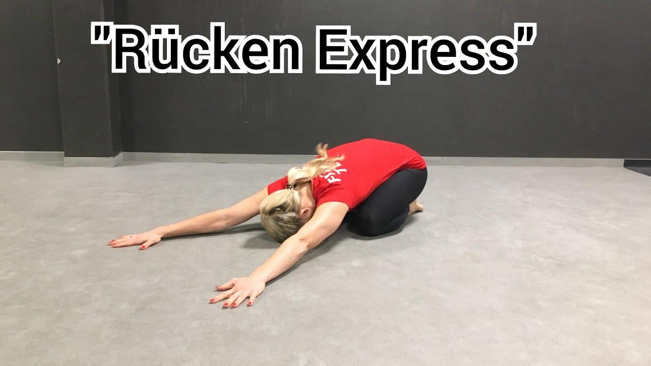 """Home Workout """"Rücken Express"""" - 15MIN Back Workout/gegen.."""