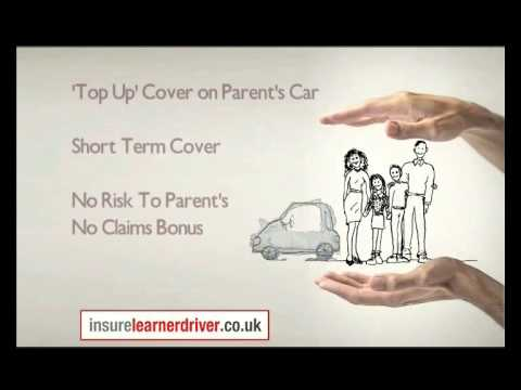 Learner Driver Insurance - Short Term Cover for Practicing In Someone Else's Car