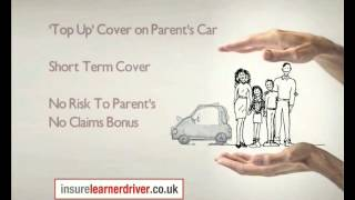 Learner Driver Insurance - Short Term Cover for Practicing In Someone Else