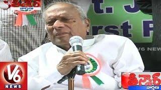 MSR Praises CM KCR   Mission Kakatiya & Grama Jyothi Schemes   Teenmaar News   V6 News