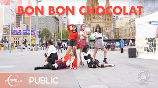 [KPOP IN PUBLIC] Bon Bon Chocolat - EVERGLOW Dance Cover / VIVE DANCE CREW