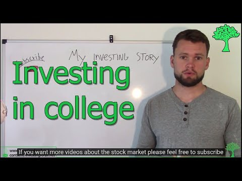 How I started investing in college