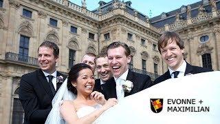 Traumhafte Hochzeit in Wurzburg