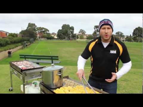 """""""The Ultimate BBQ"""" with the RaboDirect Rebels Super Rugby club"""