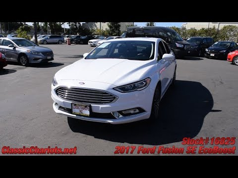 Used 2017 Ford Fusion SE EcoBoost for Sale in San Diego - 16825