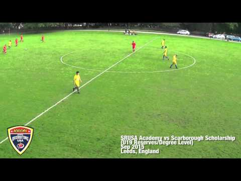 SRUSA Academy Over 19s/U19 Reserves vs Scarborough Scholarship