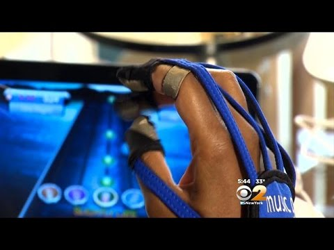 Music Glove Helps Patients With Stroke Exercises