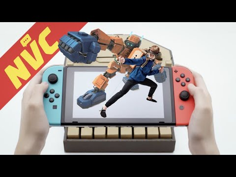 Nintendo Labo Impressions, Pokemon, New Hardware Rumors, Sega AGES on Switch, and more! - NVC Ep 404