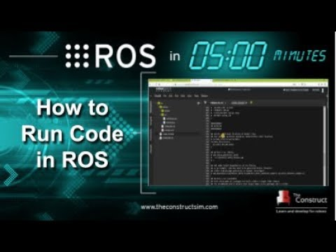[ROS in 5 mins] 016 - How to run Python and C++ code in ROS