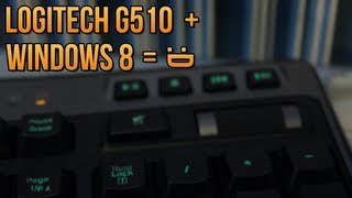 ► Logitech G510 Media Keys in WINDOWS 8 (Tutorial)
