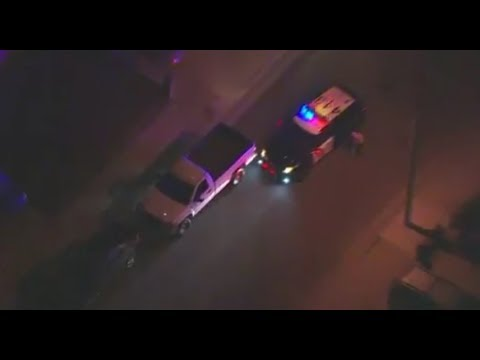 California Highway Patrol Police Chase of Pickup Truck