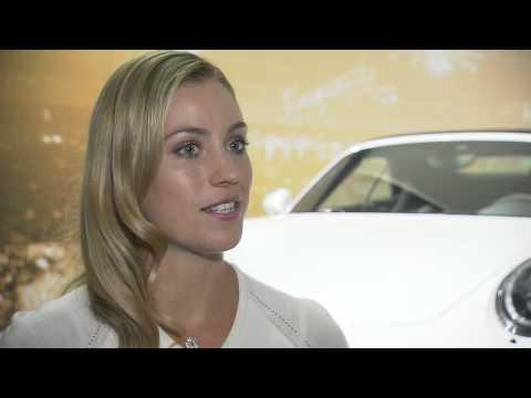 Special Angelique Kerber (only in German!) - Porsche Tennis Grand Prix 2015