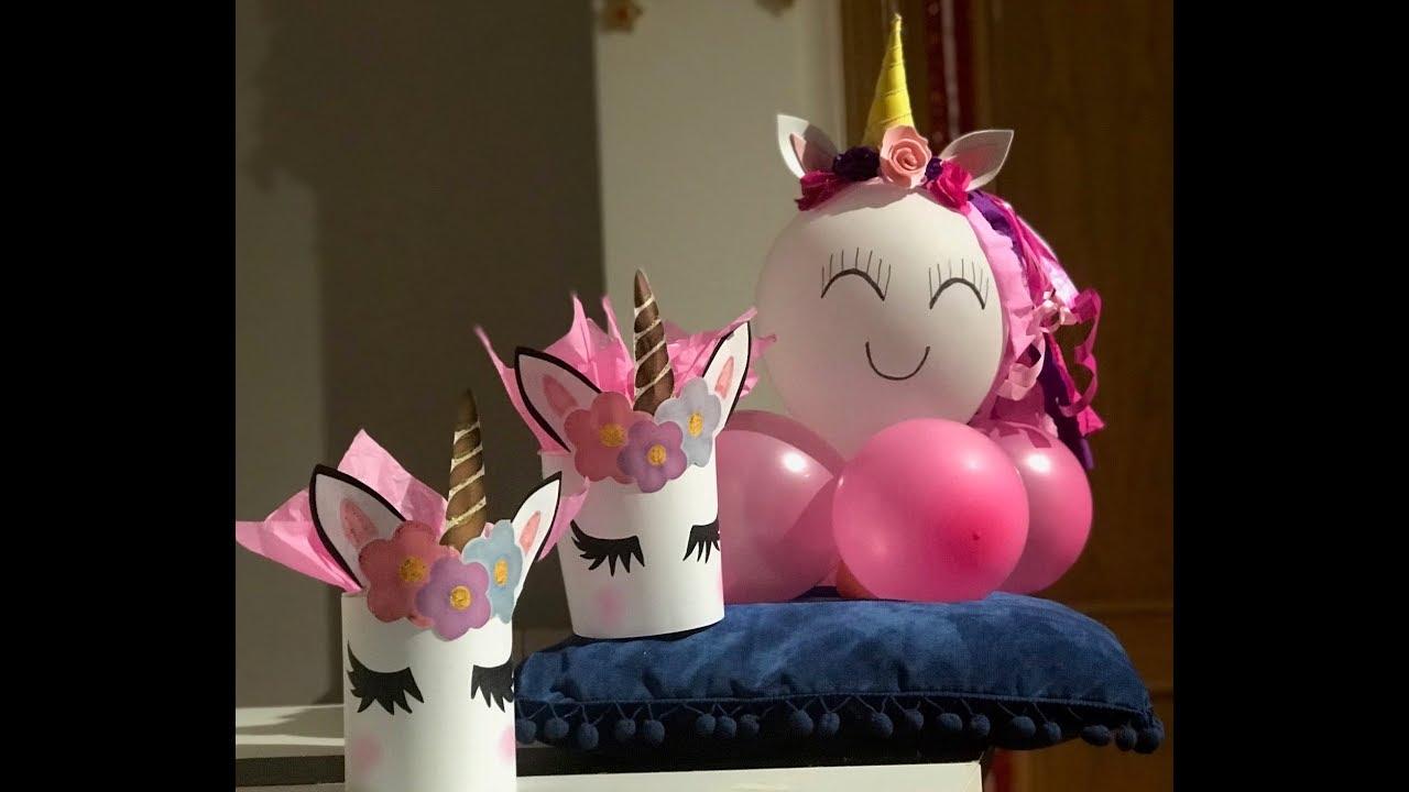 Unicornios Montaje De Mesa Para Dulces Ideas Para Hacer Una Decoración Sencilla Y Hermosa
