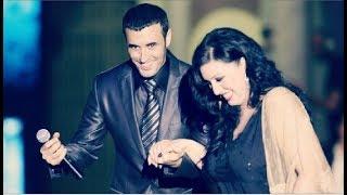 القيصر كاظم الساهر والمطربة أسماء المنور - رائعة ( ندم الحبيب ) دويتو رائع جدآ - الدوحة 2007 ~