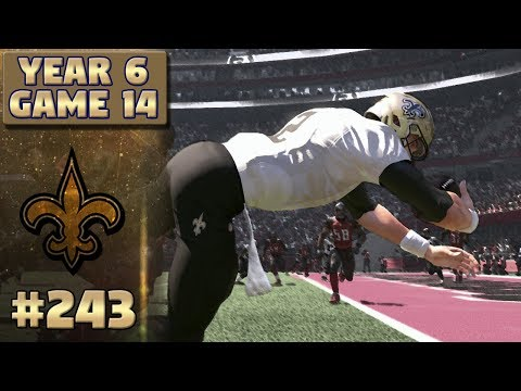 Saints @ Bucs Highlights (S6,G14) | Madden NFL 17 New Orleans Saints Franchise Ep. 243
