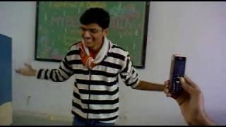 gujarati poem of krushna dave funny recitation...
