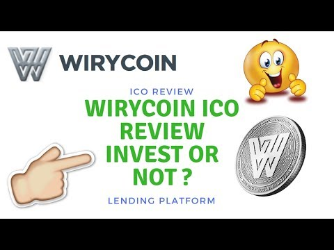 ICO Review WiryCoin - SMART Lending Platform Backed by Bitco
