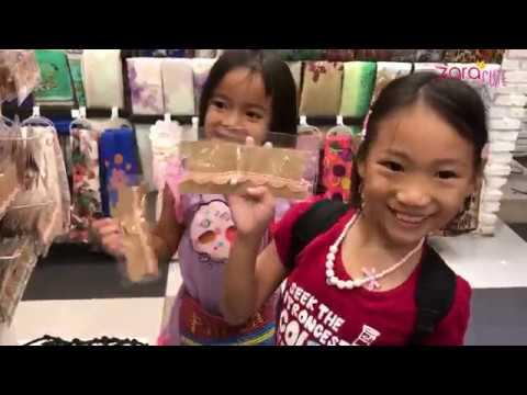 Belanja Pernak Pernik Anak Perempuan | Cara Zara menjamu Saudara